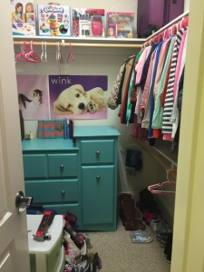 caleigh closet before