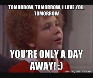 tomorrow tomorrow